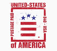 Postage Paid USA Unisex T-Shirt
