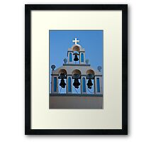 Four Bells And A Cross Framed Print