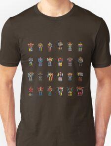 A History of Megazords T-Shirt