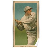 Benjamin K Edwards Collection Meyers New York Giants baseball card portrait 001 Poster