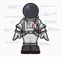 Space Suit Kids Tee