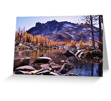 enchantmen lakes leavenworth wa. Greeting Card