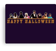 Greendale Halloween (Season 2) - Happy Halloween Canvas Print