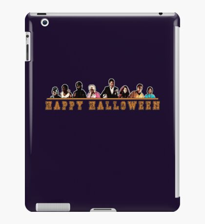 Greendale Halloween (Season 2) - Happy Halloween iPad Case/Skin