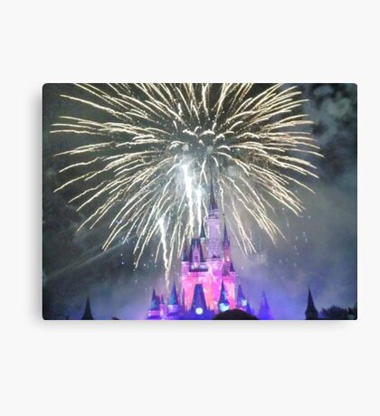 Fourth Of July Concert In The Sky Canvas Print