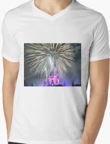 Fourth Of July Concert In The Sky Mens V-Neck T-Shirt