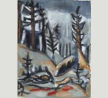 North Woods Mood(Based on a Watercolor by Charles E. Burchfield Unisex T-Shirt