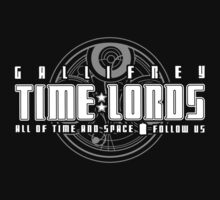 Gallifrey Time Lords Kids Clothes