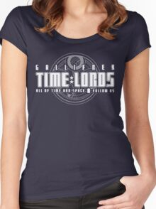 Gallifrey Time Lords Women's Fitted Scoop T-Shirt