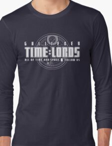 Gallifrey Time Lords Long Sleeve T-Shirt