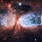 Space Angel - Merry Christmas from Hubble by jyruff