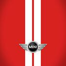 Mini Cooper Strips - Chili Red by mrmini