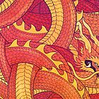 Coiled Dragon by lolliegag