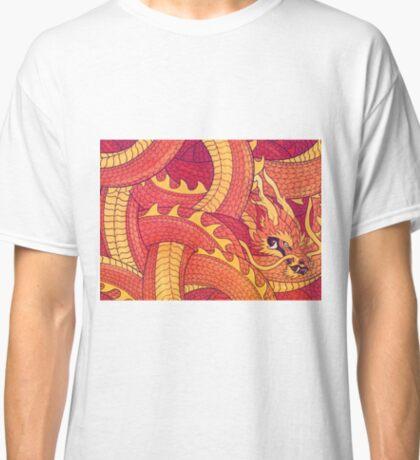 Coiled Dragon Classic T-Shirt