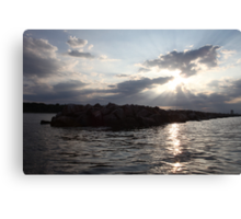 South Shore Clouds  Canvas Print