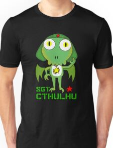 Sergeant Cthulhu (English version) Unisex T-Shirt