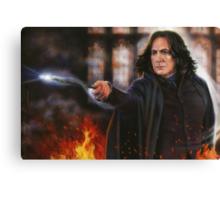 Snape: Sectumsempra Canvas Print