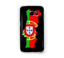 Portugal Flag and Map Samsung Galaxy Case/Skin