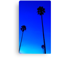 Venice Beach Palm Trees Canvas Print
