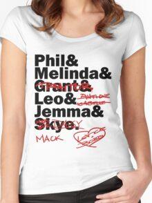 We are Agents of S.H.I.E.L.D. Season 2 Women's Fitted Scoop T-Shirt