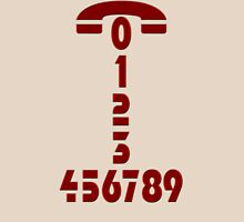 Phone number Unisex T-Shirt