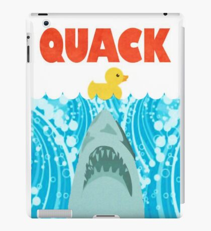 Quack Duck Parody iPad Case/Skin