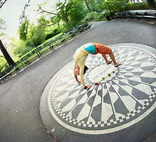 Yoga at the Imagine Circle, New York by Wari Om  Yoga Photography