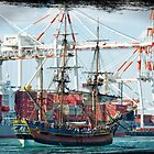 HMB Endeavour by Darren Speedie