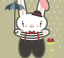 Be Mime Bunny by prettycritters