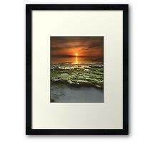 """Greenfield Sunrise"" ∞ Vincentia, NSW - Australia Framed Print"