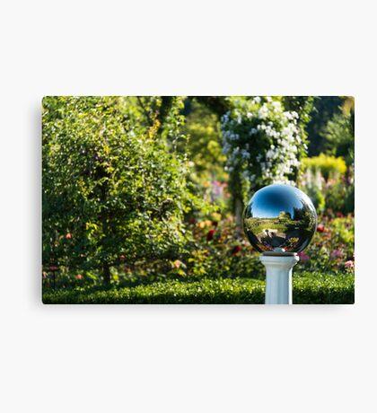 Mirror Ball, Butchart Gardens Canvas Print
