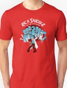 Rick Sanchez Vs The Multiverse Scott Pilgrim parody T-Shirt