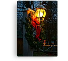 """It's Begining To Look A Lot Like Christmas"" Canvas Print"