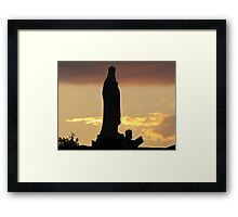 Jesus and Mary Framed Print