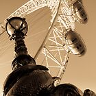 London Eye And street Lamp With serpent by DavidHornchurch