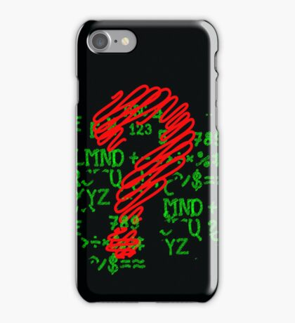 questions and answers iPhone Case/Skin