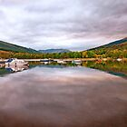 Loch Tay Reflections by Stephen Knowles