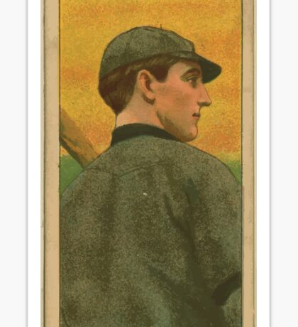 Benjamin K Edwards Collection Wildfire Schulte Chicago Cubs baseball card portrait 002 Sticker