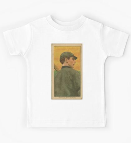 Benjamin K Edwards Collection Wildfire Schulte Chicago Cubs baseball card portrait 002 Kids Tee