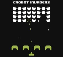 Crobot Crew - invaders retro arcade by 60nine