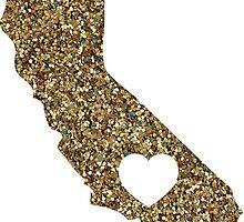 California + Glitter by tessakemper