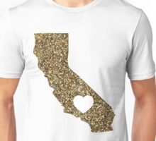 California + Glitter Unisex T-Shirt