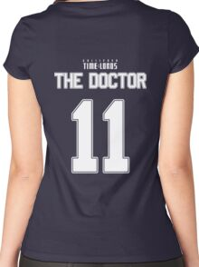 Team Smith (The Doctor Team Jersey #11) Women's Fitted Scoop T-Shirt