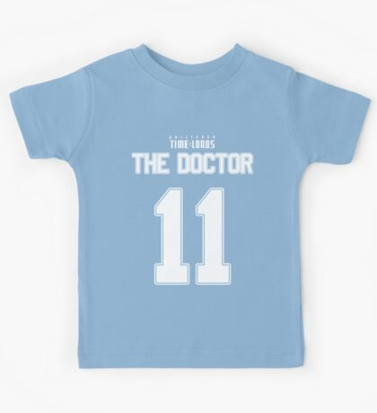 Team Smith (The Doctor Team Jersey #11) Kids Tee