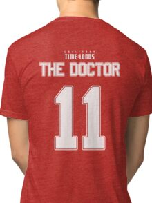 Team Smith (The Doctor Team Jersey #11) Tri-blend T-Shirt