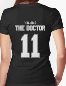 Team Smith (The Doctor Team Jersey #11) Womens Fitted T-Shirt