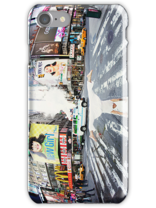 Yoga in Times Square, New York by Wari Om  Yoga Photography