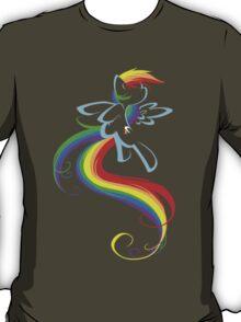 Flowing Rainbow T-Shirt