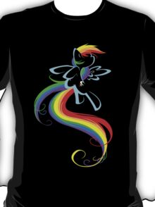 Flowing Rainbow T-Shirt