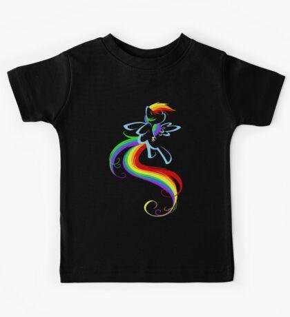 Flowing Rainbow Kids Tee